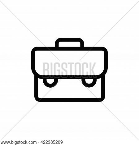 Suitcase Icon Isolated On White Background. Suitcase Icon In Trendy Design Style For Web Site And Mo