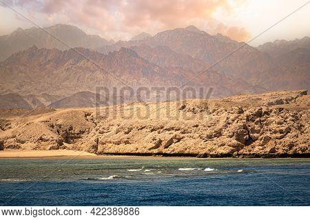Sinai Peninsula. Sinai Has Become A Tourist Destination Due To Its Natural Setting, Rich Coral Reefs