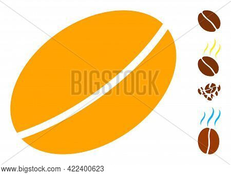 Wheet Seed Icon Designed In Flat Style. Isolated Vector Wheet Seed Icon Illustrations On A White Bac
