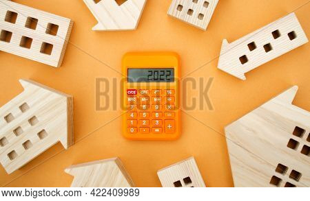 Family Budget Planning. Investments, Plans, Savings. Mortgage And Mortgage Rates. Real Estate Concep