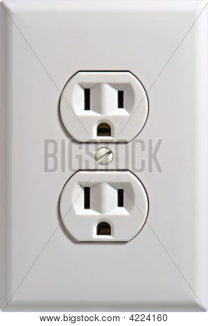 Electric Wall Outlet Receptacle