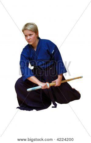 Woman  Of Warrior  Kendoka