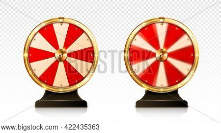 Fortune Wheel Spin, Casino Lucky Roulette Game Of Chance With Money Prizes, Lose And Jackpot Win Sec