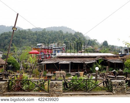 Local Restaurant Cafe Coffee Shop Nepali Style Closed Service While Coronavirus Covid 19 Outbreak An
