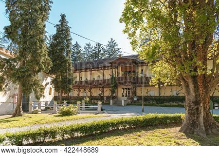Swiss Villa, Located In Julius Park, Daruvar Town, Croatia