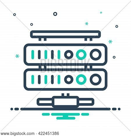 Mix Icon For Network-database Network Database Archive Application Connection Folder Hardware Networ