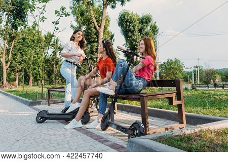 Summer Activities For Teens And Adults. Bicycle And Electric Scooter Rentals. Summer Bucket List, Fu