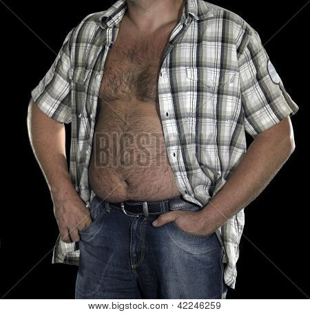 Belly Of A Corpulent Man