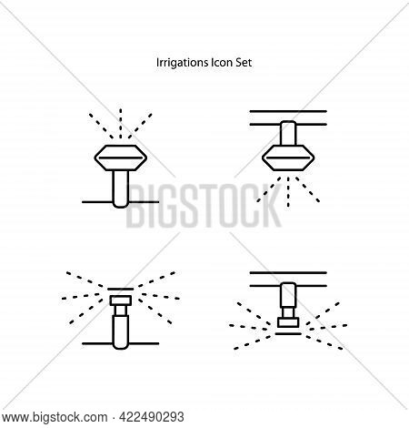Irrigator Icon Isolated On White Background. Irrigator Icon Trendy And Modern Irrigator Symbol For L