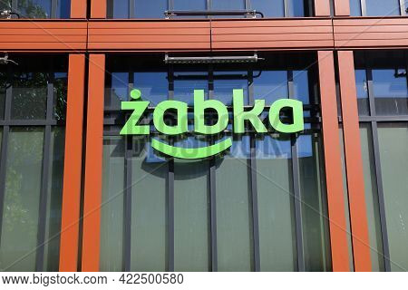 Gliwice, Poland - May 11, 2021: Zabka Convenience Store In Gliwice City In Poland. Zabka Is One Of L