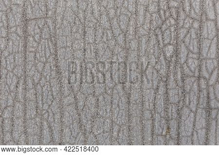 Zinc Painted Flat Texture And Full Frame Grey Background