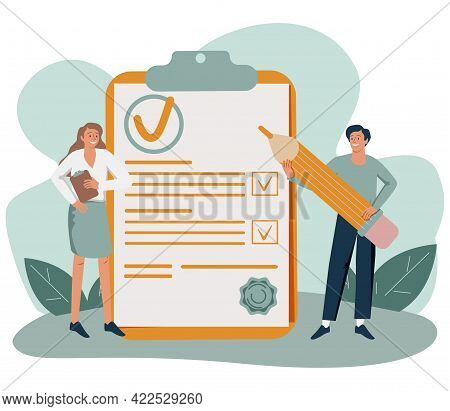 Policy As Legal Principles Statement With Text Protocol Tiny Person Concept. Procedure Regulation Do