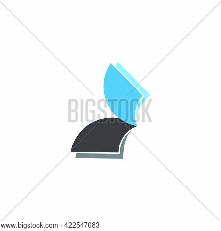 Motion Paper Abstract Silhouette Symbol Vector Unique Unusual Brand Identity Clear Look Concept