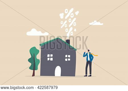 Real Estate And Housing Mortgage Rates, Interest Rate For House Loan Or Renting, Property Tax Or Ban