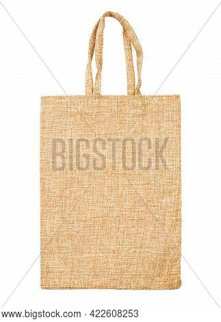 Sack Bag Isolated On White Background With Clipping Path