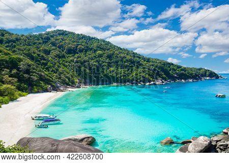 Beauty, Tropical Beach, Similan Islands, Andaman Sea, National Park, Phangnga Province, Thailand