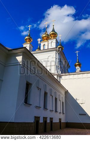 Holy Dormition Monastery In Ivanovo In Russia