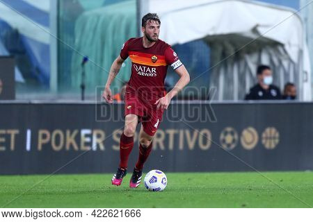 Genova, Italy. 2nd May 2021 . Bryan Cristante Of As Roma  During The Serie A Match Between Uc Sampdo