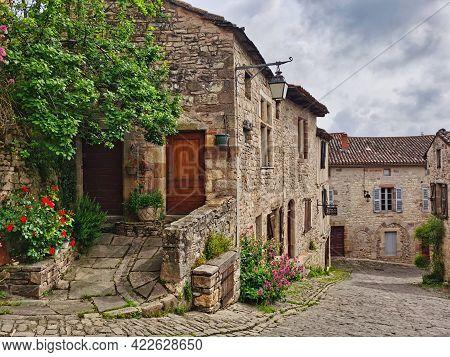 Beautiful Historical Village Of Cordes-sur-ciel, South Of France.