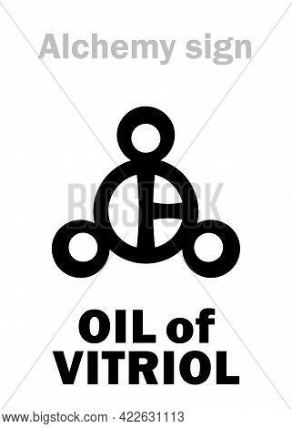 Alchemy Alphabet: Oil Of Vitriol (