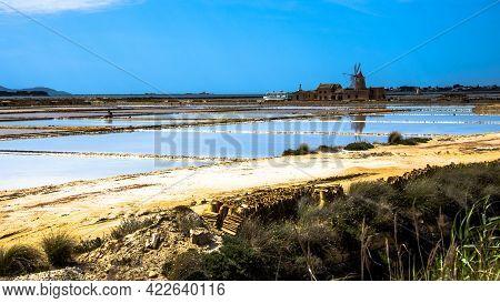 2021 05 29 Marsala Windmills In The Salt Flats 8