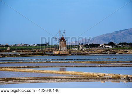 2021 05 29 Marsala Windmills In The Salt Flats