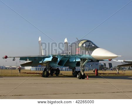Jet Fighter Su-34