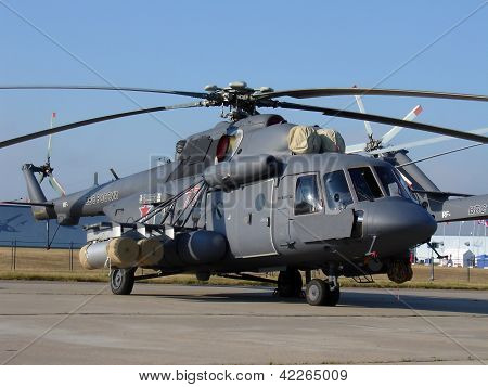 Russian Military Helicopter Mi-8