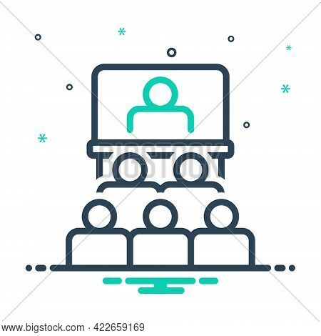 Mix Icon For Audience-in-presentation-of-business Audience Presentation Business
