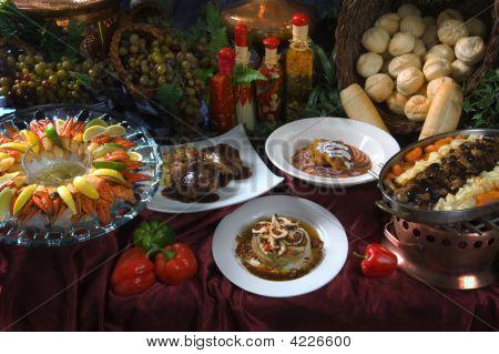 A Gorgeous Buffet Set Up