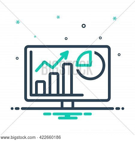 Mix Icon For Analytics Web-analytics Trend Usability Marketing Infographic Data-analysis Statistic S