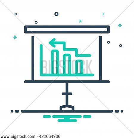Mix Icon For Diagram Blueprint Chart Description Presentation Perspective Representation Layout