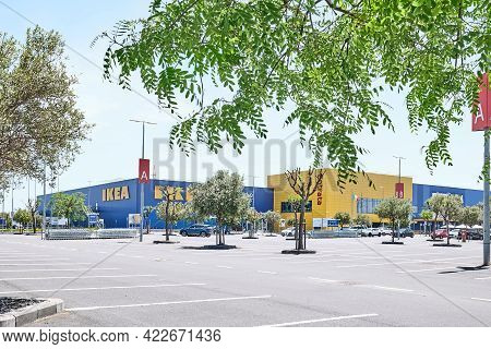Catania, Sicily, Italy - April 24, 2021: Ikea Store In Catania. Ikea Is One Of The Largest Furniture