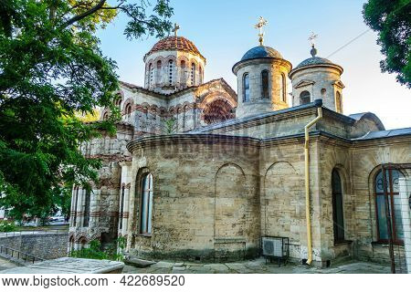 Church Of Saint John The Baptist In Kerch, Crimea. It's One Of Oldest Orthodox Churches, Was Founded
