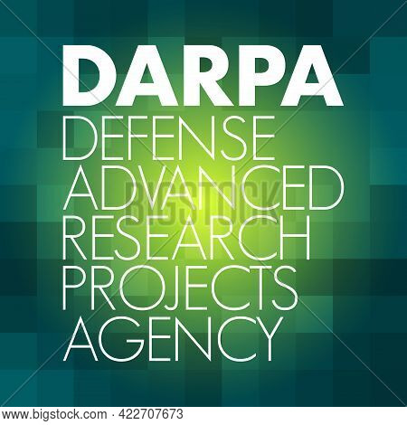 Darpa - Defense Advanced Research Projects Agency Acronym, Concept Background