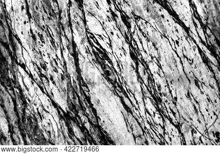Black With White Or Grey Marble Stone Background.dark Grey Or Black Marble,quartz Texture Backdrop.