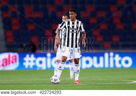 Bologna, Italy. 23th May 2021 . Danilo Of Juventus Fc  During The Serie A Match Between Bologna Fc A