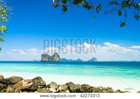 Peaceful Paradise Exotic Beach