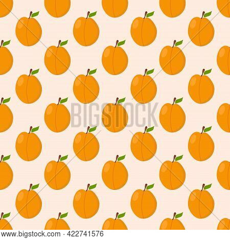 Apricot Pattern For Use In Textile Or Packaging Design