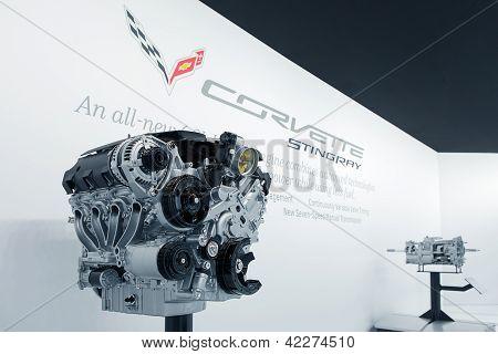 Covette Stingray Engine