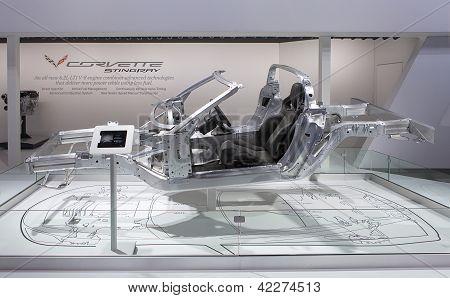 Chevrolet Corvette Stingray Frame