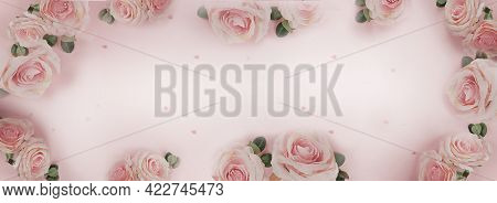 Beautiful Rose Flower In The Garden. Rose Flower Background. Rose Flower Texture. Beautiful Rose. Ro