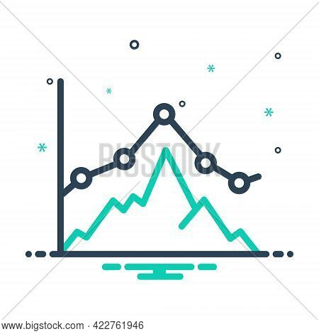 Mix Icon For Business-graph Business Graph Representation Chart Digram Statistic Growing Presentatio
