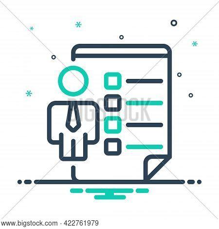 Mix Icon For Employee-skills Employee Skill Chic Dexterity Ingeniouity Ingenuity Proficiency Accompl