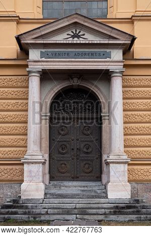 Entrance Door To Sieberersches Waisenhaus Und Greisenasyl - Sieberer Orphanage And Elderly Asylum  I