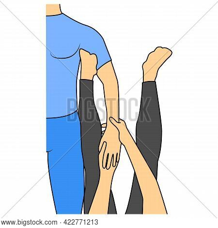 Massage. Yumeiho Therapy. Instructions For Performing Massage Techniques