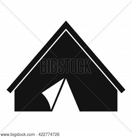 Quiet Space Tent Icon. Simple Illustration Of Quiet Space Tent Vector Icon For Web Design Isolated O