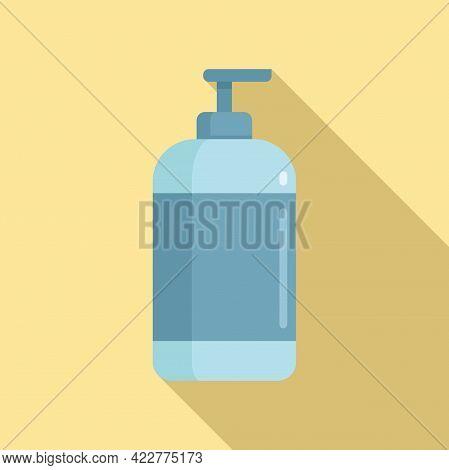 Softener Dispenser Icon. Flat Illustration Of Softener Dispenser Vector Icon For Web Design