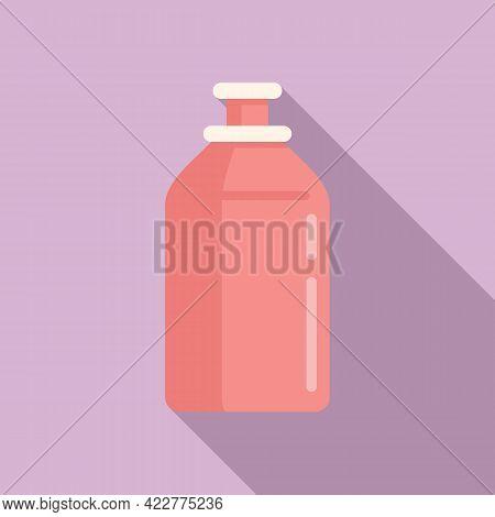 Softener Toilet Bottle Icon. Flat Illustration Of Softener Toilet Bottle Vector Icon For Web Design