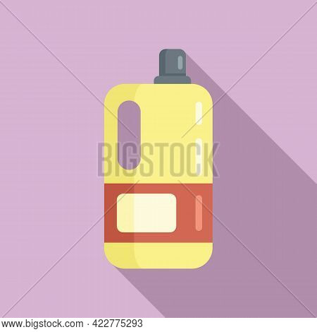 Softener Washing Icon. Flat Illustration Of Softener Washing Vector Icon For Web Design